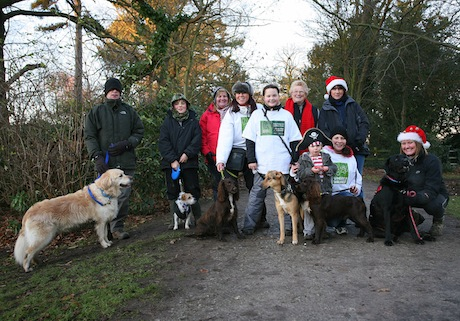 Sponsored Dog Walk at Elvaston Castle